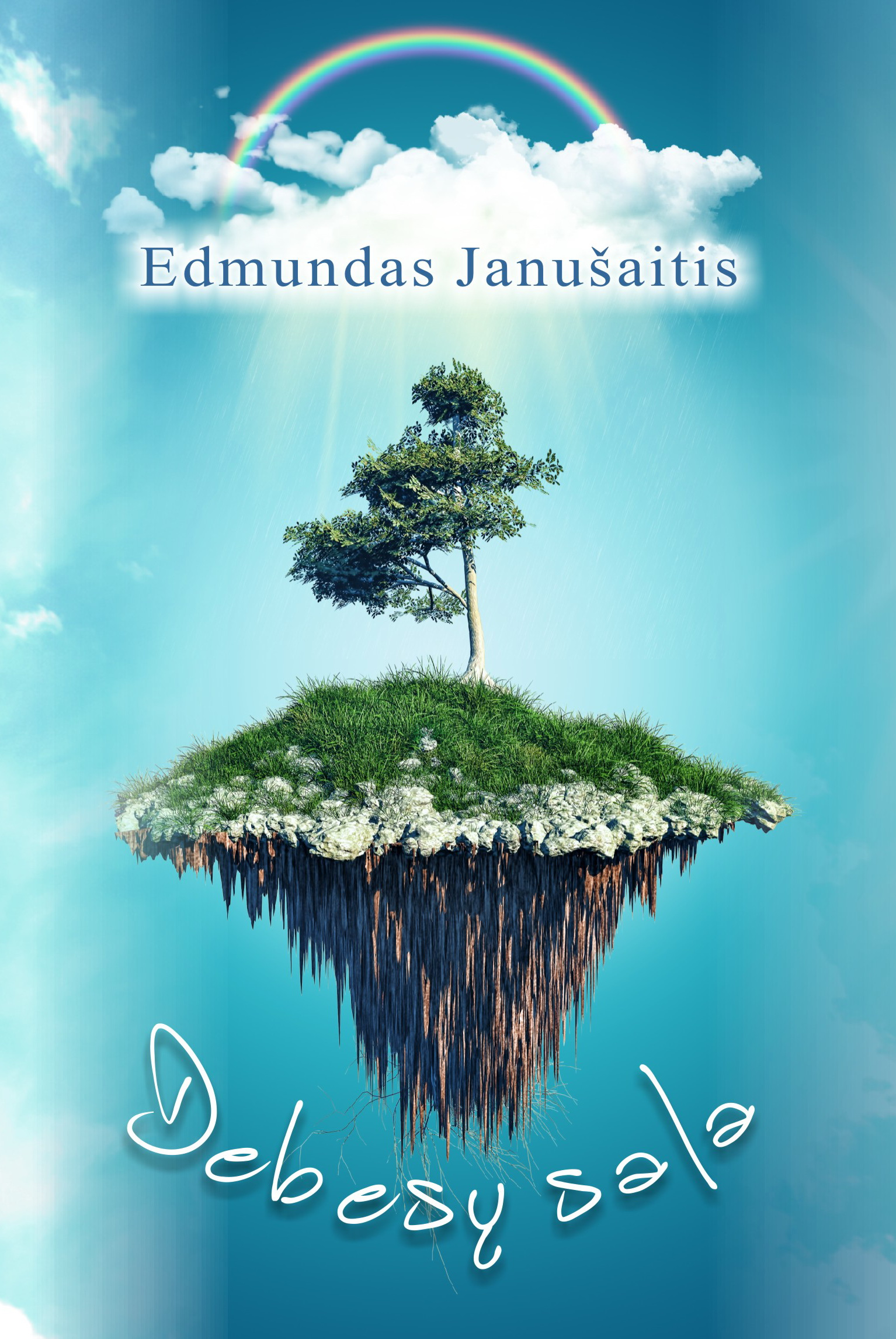 """Edmundas Janušaitis. """"Debesų sala"""" (Kaunas: Naujasis lankas, 2017)"""