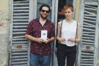 """Jurga Po Alessi ir Davide Ferrari. """"Donaldo Kajoko poezijos knyga prakalbo kurtiems asiliukams Italijoje"""""""