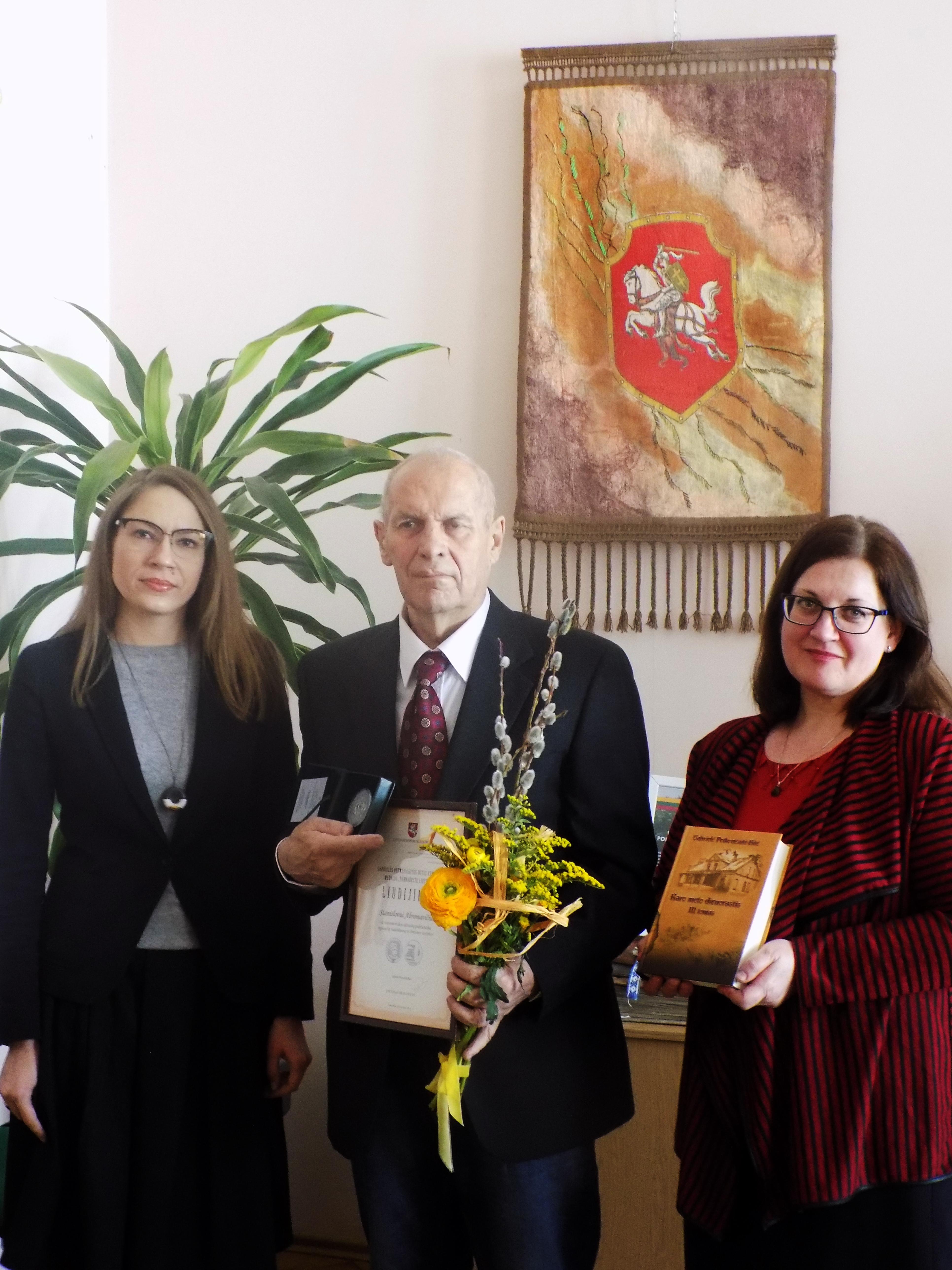 """Gabrielės Petkevičaitės-Bitės atminimo medaliai """"Tarnaukite Lietuvai"""" – dviem kauniečiams!"""