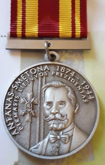 Gediminui Jankui – Pirmojo Lietuvos prezidento Antano Smetonos atminimo medalis