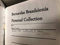 Prarasta dalis Bernardo Brazdžionio archyvų