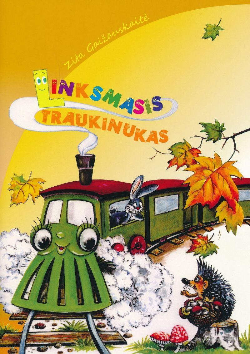 """Zita Gaižauskaitė. """"Linksmasis traukinukas"""" (Kaunas: Spaudos praktika, 2019)"""