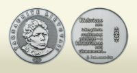 """Gabrielės Petkevičaitės-Bitės atminimo medalio """"Tarnaukite Lietuvai"""" laureatai – Erika Drungytė ir Viktoras Rudžianskas"""