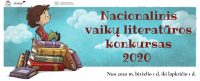 Skelbiamas aštuntasis Nacionalinis vaikų literatūros konkursas 2020