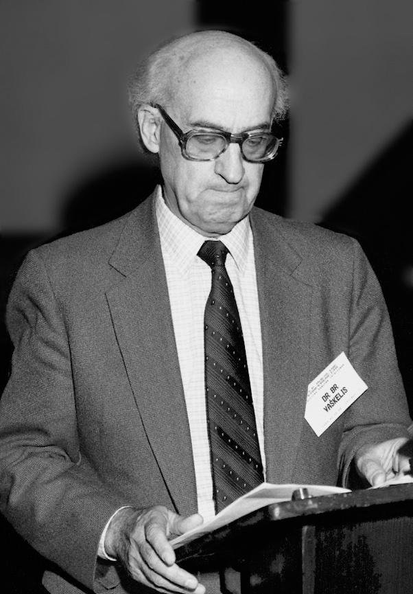 Bronius Vaškelis (1922 11 14–2021 09 03)