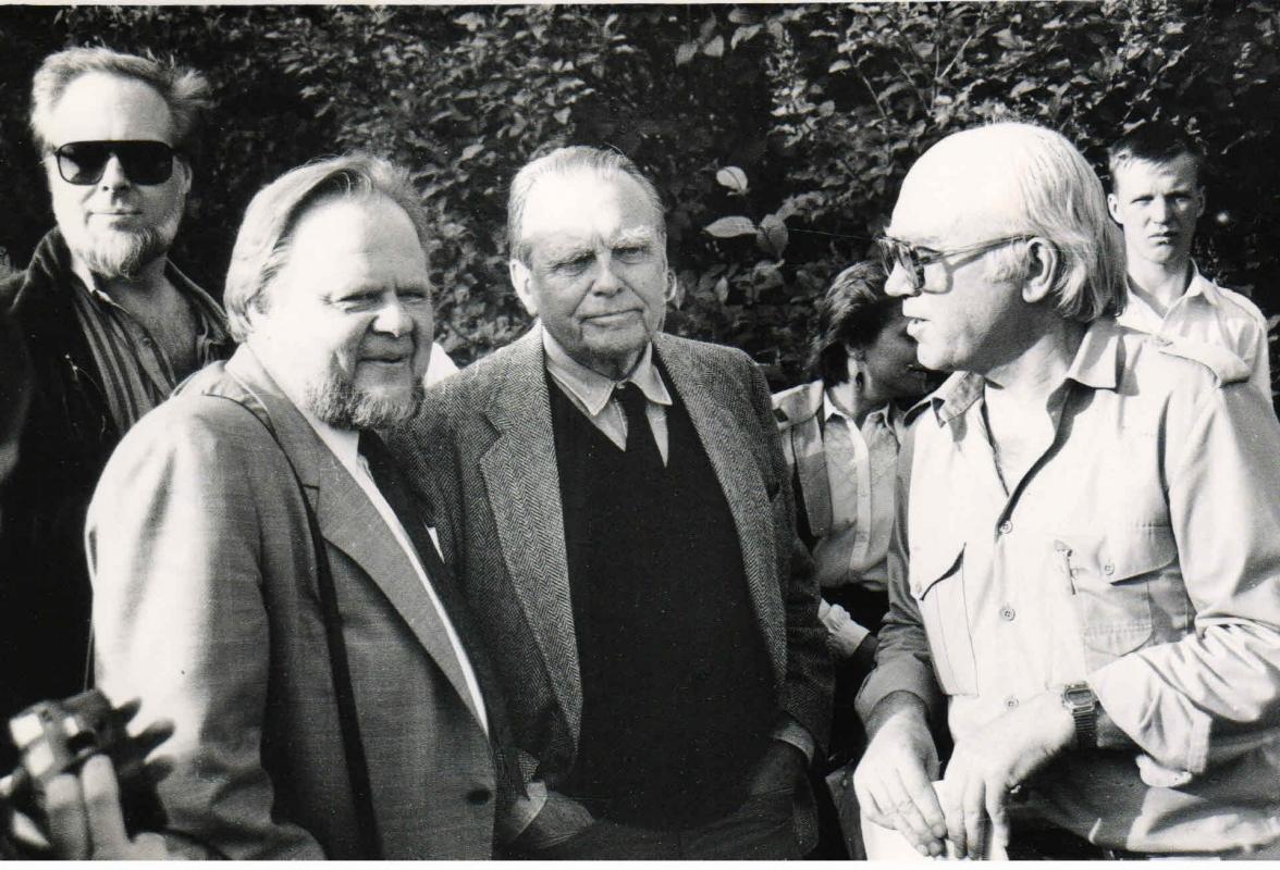Poezijos pavasaris su A. Avižieniu ir Č. Milošu