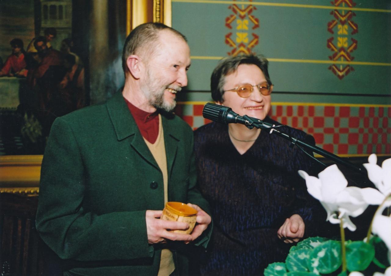 Jurgis Gimberis ir Rita Vinciūnienė