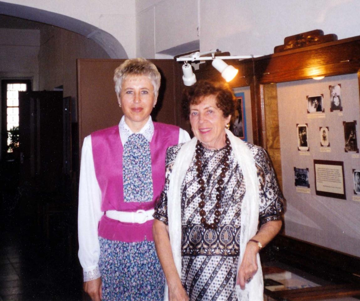 A. Ruseckaitė ir B. Pūkelevičiūtė