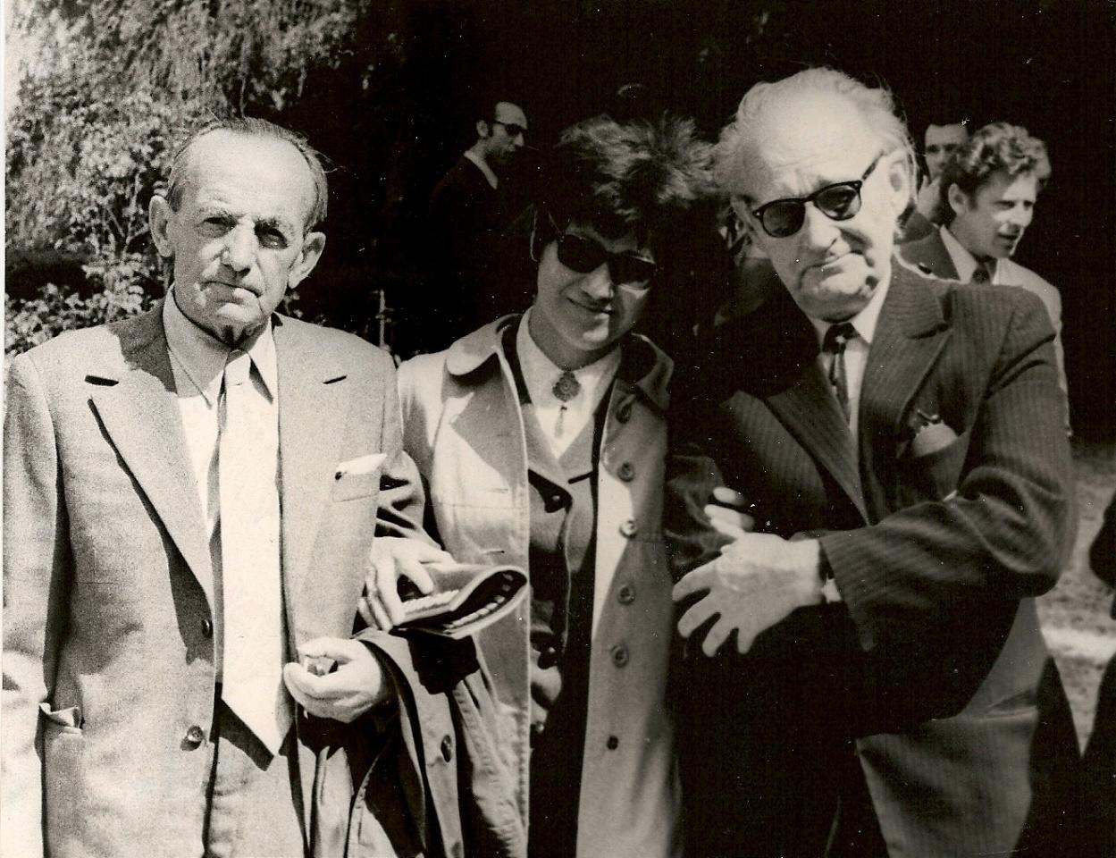 A. Puišytė su A. Miškiniu ir J. Graičiūnu