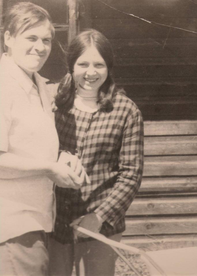 S. Abromavičius su žmona Violeta