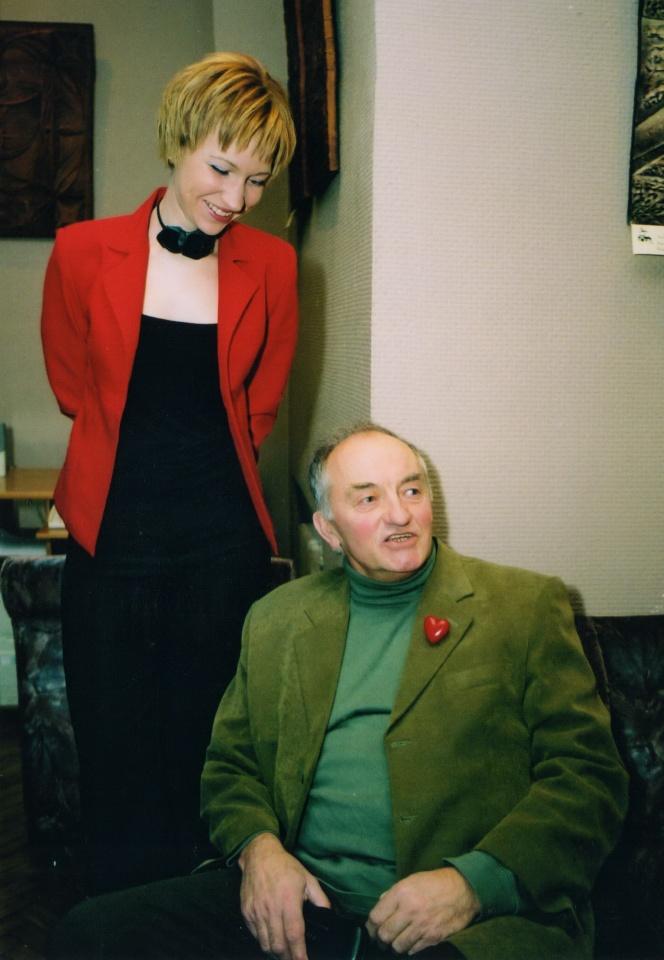 Greta Bakūnaitė ir Aleksas Dabulskis