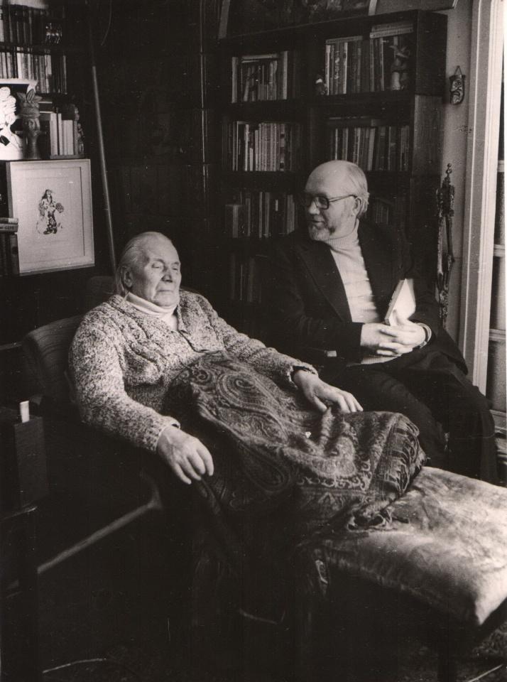 Petras Palilionis ir Juozas Grušas