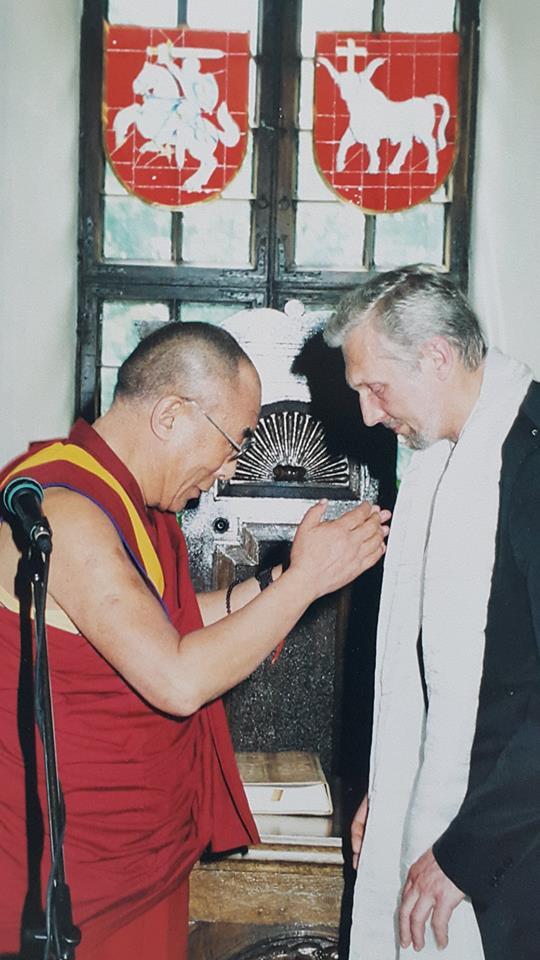 Dalai Lama ir G. Jankus