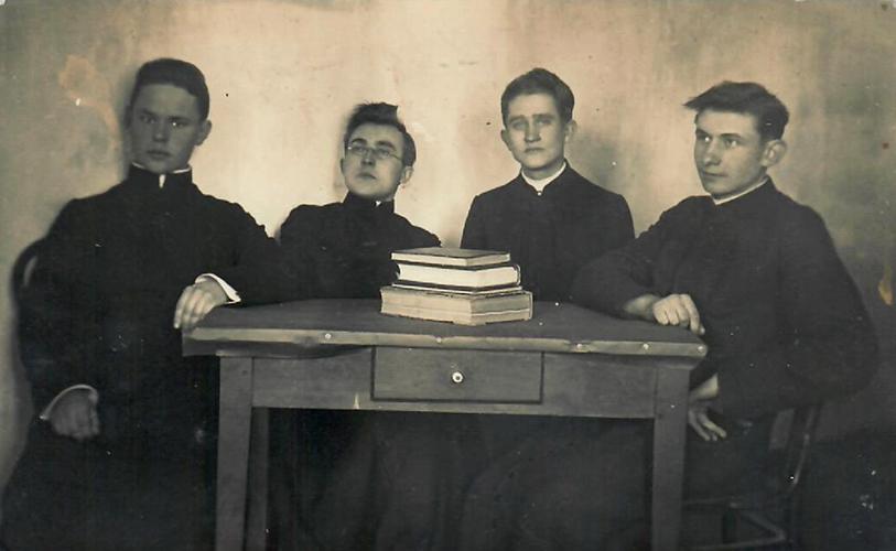 Poetai Kazys Zupka-Kecioris, Stasius Būdavas ir Mykolas Linkevičius