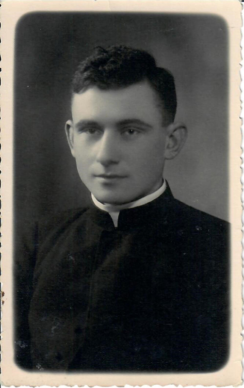 Poetas Kazys Zupka-Kecioris Kauno kunigų seminarijoje