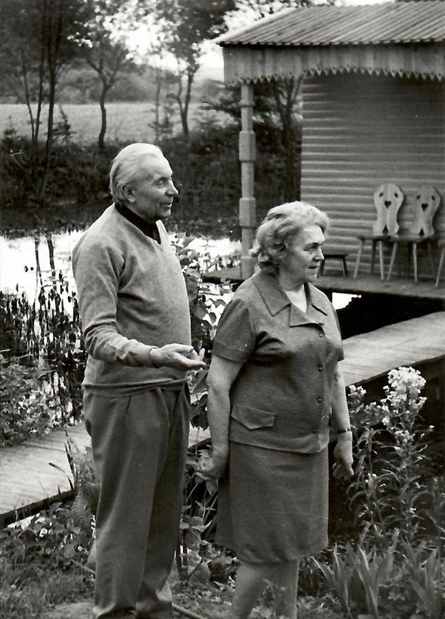 Pulcherija ir Juozas Grušai