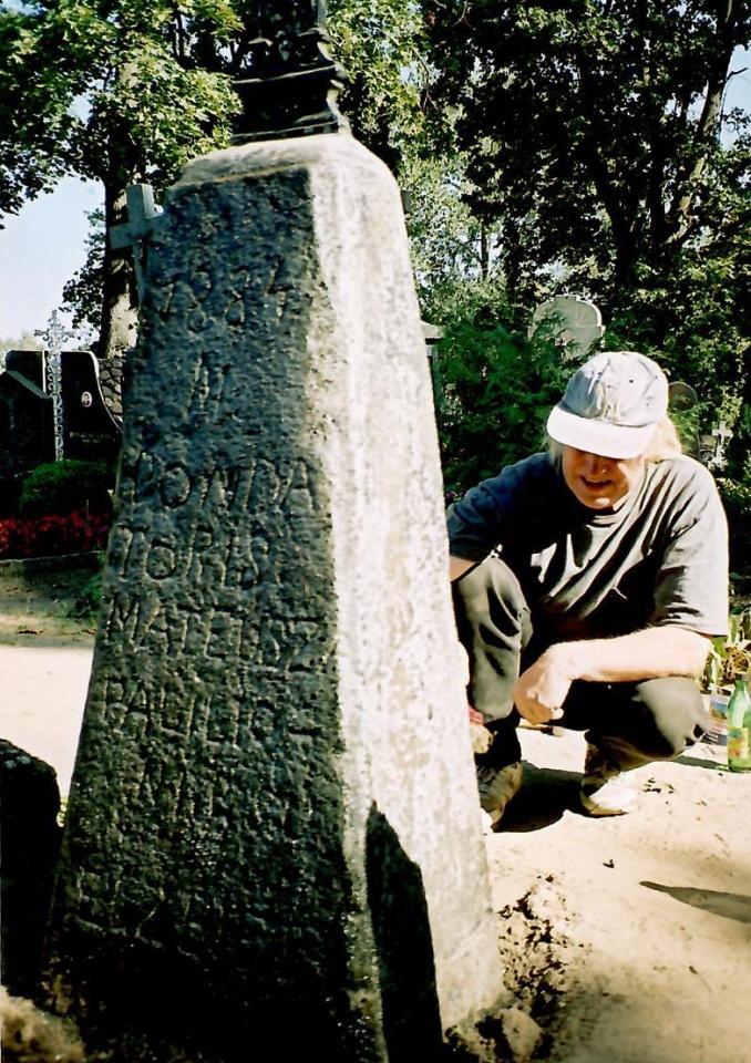 Skulptorius Sigitas Straigis