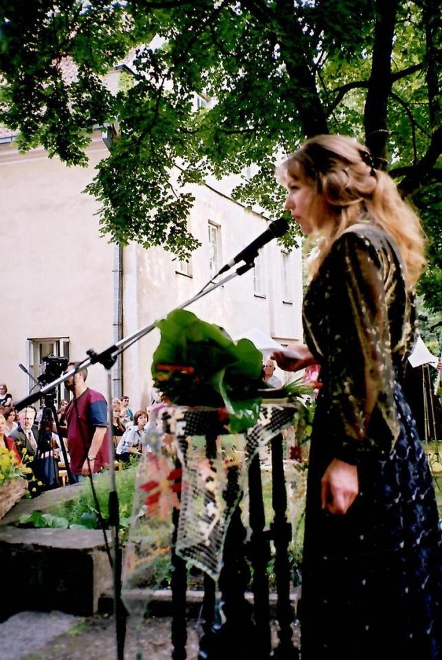 Aktorė Regina Laucytė