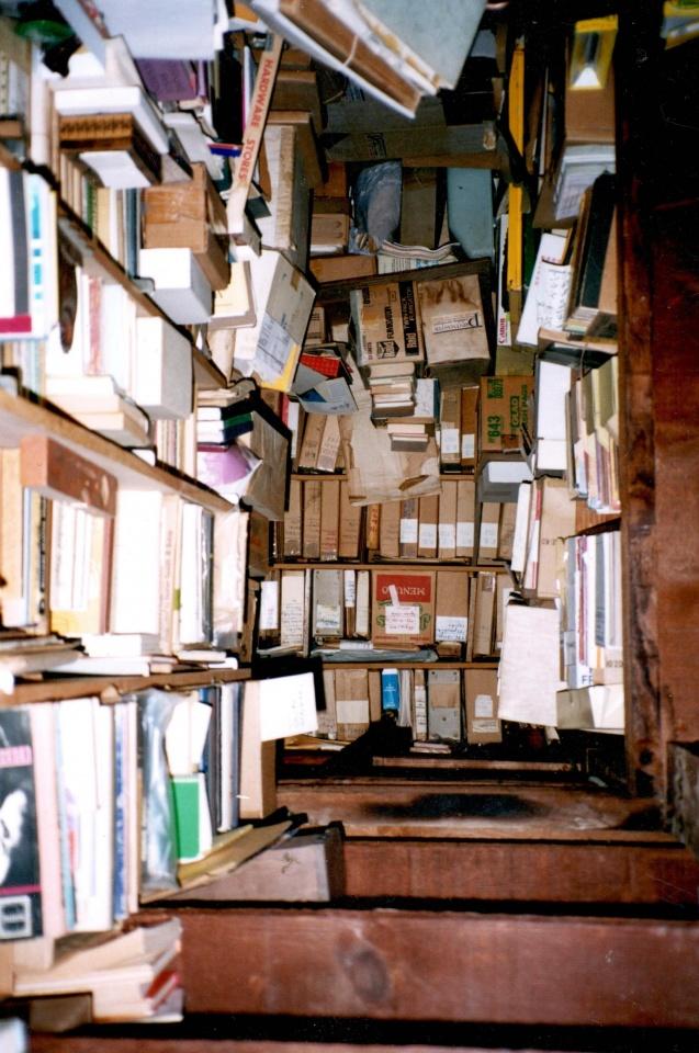 Bernardo Brazdžionio knygų rūsys