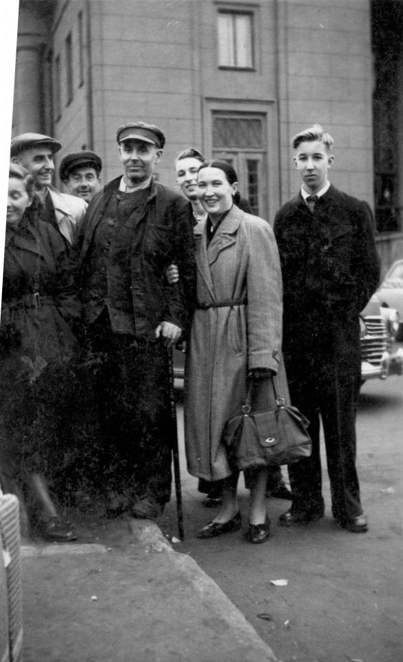 Rašytojo Kazio Jankausko sugrįžimas iš tarybinio lagerio