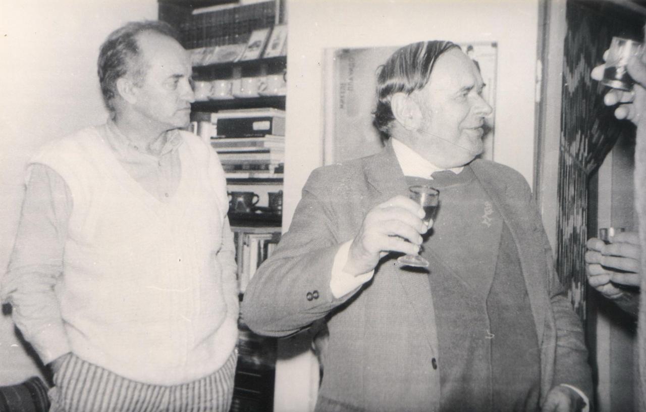 Satyrikai A. Dabulskis ir Vytautas Eidukaitis