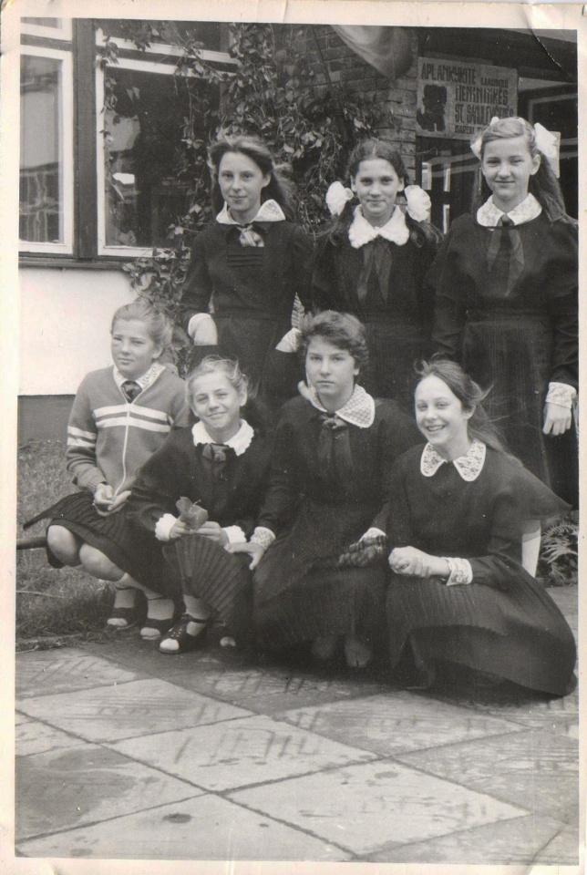 Lina Navickaitė mokykloje
