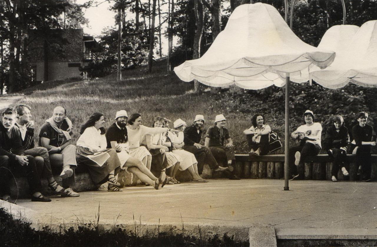 Kūrybinė Kauno jaunųjų menininkų stovykla Nidoje