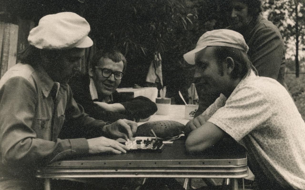 Petras Venclovas su Kauno rajono literatais