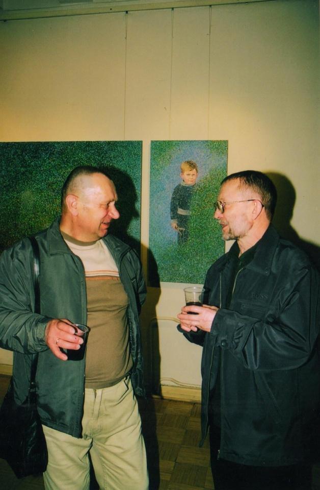 Augustas Tamaliūnas ir Jurgis Gimberis