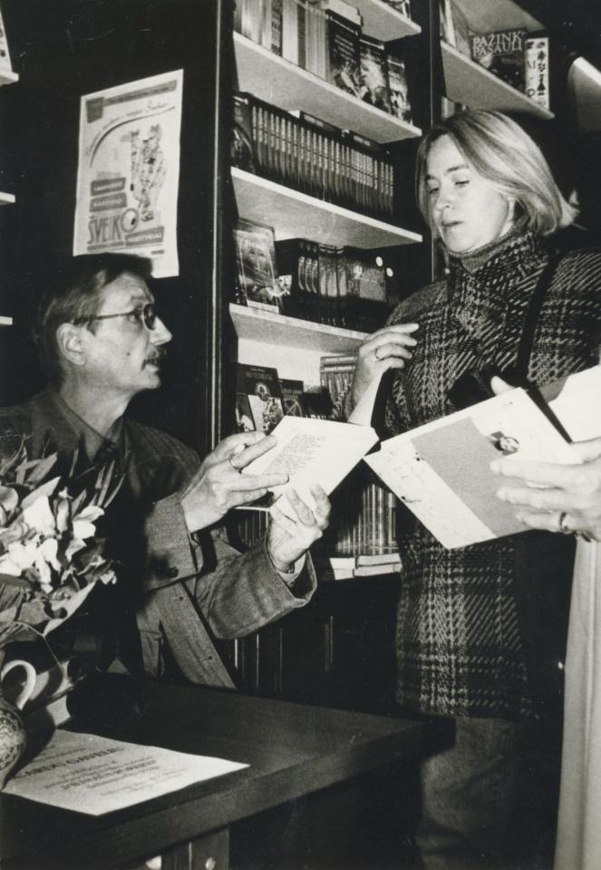 Ričardas Gavelis ir Nijolė Raižytė