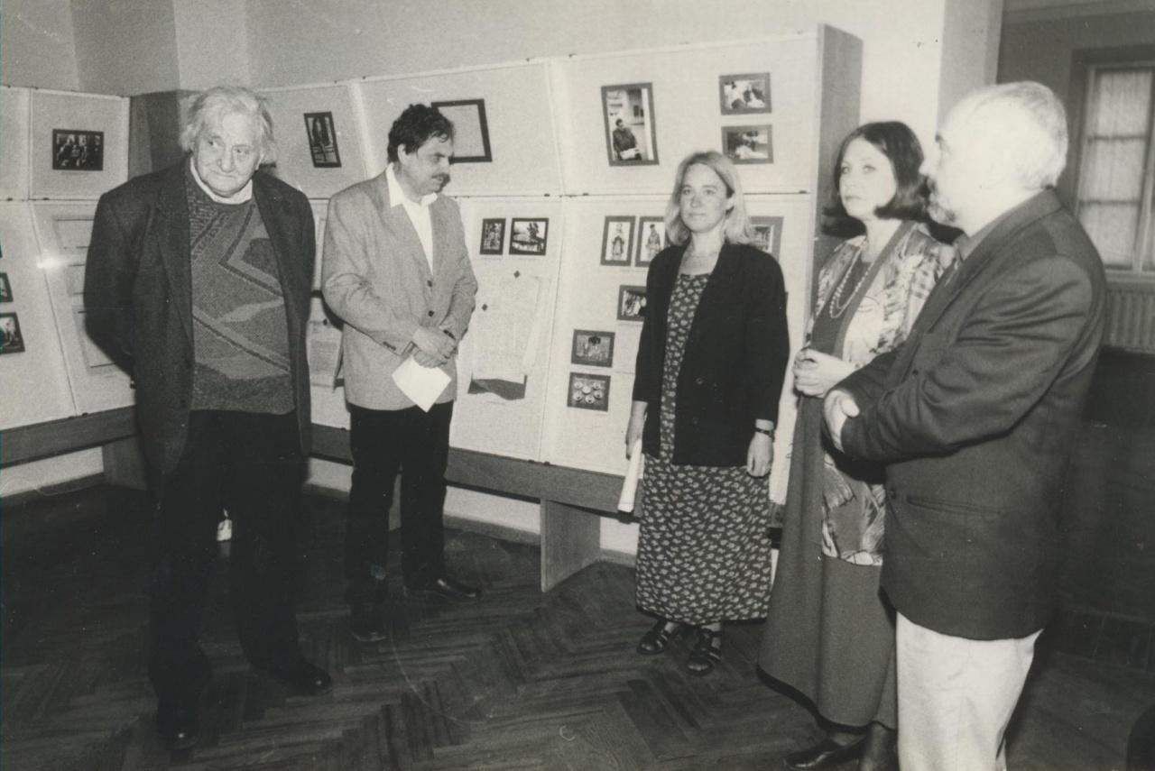 Parodos, skirtos Jurgio Savickio 110-osioms gimimo metinėms, pristatymas