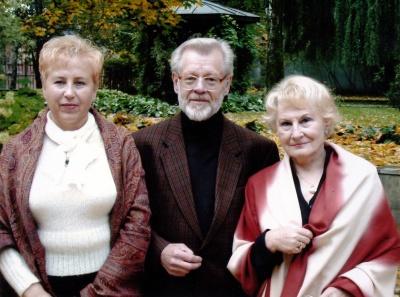 Rašytojai Aldona Ruseckaitė, Vytautas Bubnys ir Elena Kurklietytė-Bubnienė