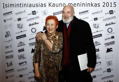 A. Ruseckaitė ir V. Kiaušas-Elmiškis