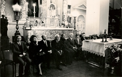 Poezijos popietė Vilniaus Arkikatedroje, skirta popiežiaus Jono Pauliaus II vizitui į Lietuvą