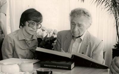 A. Puišytė ir Bern. Brazdžionis