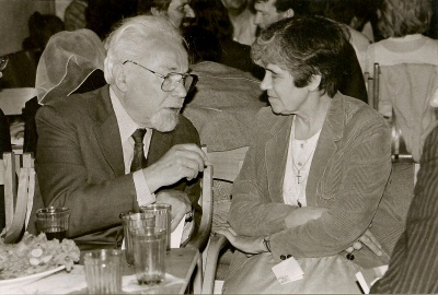 A. Puišytės ir K. Bradūno pokalbis