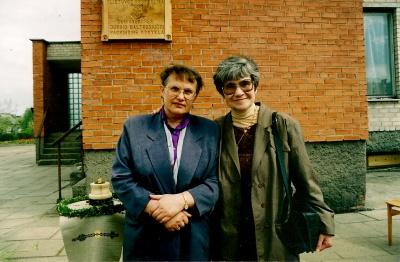 V. Daujotyte ir A. Puišytė