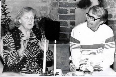 Loreta Gražina Latonaitė-Packevičienė ir Petras Venclovas