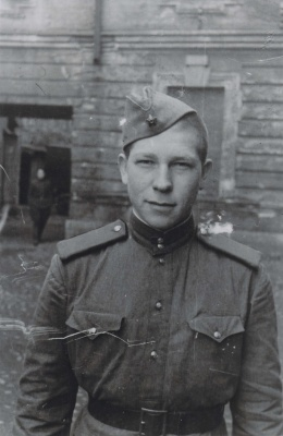 Leonas Zaleckis kariuomenėje