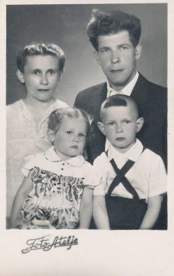 Rašytojo Leono Zaleckio šeima