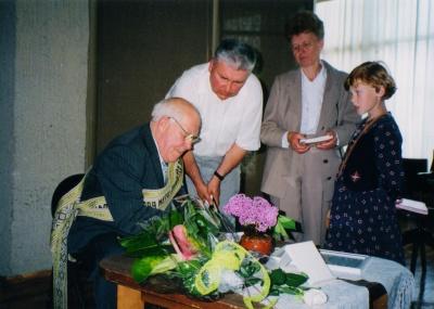 Žemaitės premijos laureatas Leonas Zaleckis