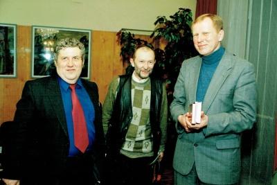 A. Mikuta, J. Gimberis ir V. Stulpinas