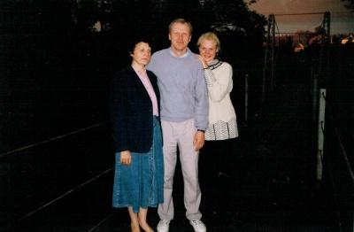 Vytautas Stulpinas su šeima