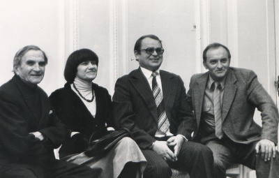 E. Viskanta, A. E. Puišytė, A. Kubiliūnas ir A. Dabulskis