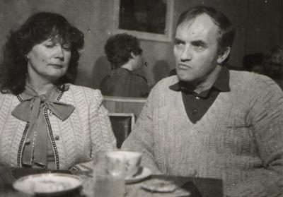 Žurnalistė R. Kanopkaitė ir satyrikas A. Dabulskis
