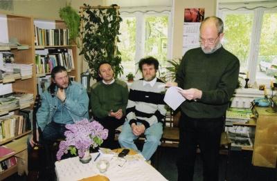 Literatūrinis ketvirtadienis, 2001