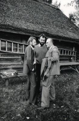 R. Butkevičius, E. Ignatavičius ir A. Dabulskis