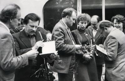 Poezijos pavasaris Kaune, apie 1983–1985 m.