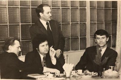 A. Mikuta, A. Dabulskis ir R. Keturakis