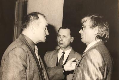 A. Dabulskis, A. Tamaliūnas ir P. Bingelis